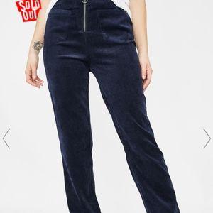 Obey worldwide blue corduroy size 29 pants
